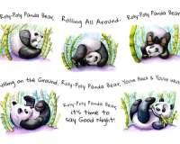 Roly-Poly Panda Bear