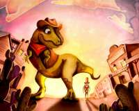 T-Rex & Big Tex - Tour the Wild West